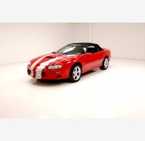 2002 Chevrolet Camaro SS Convertible for sale 101447181