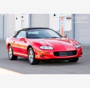 2002 Chevrolet Camaro Z28 for sale 101455271