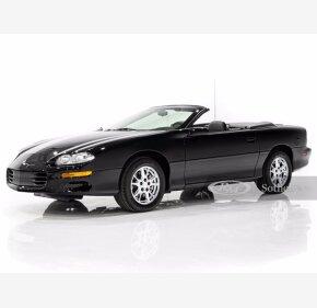 2002 Chevrolet Camaro Z28 Convertible for sale 101459625
