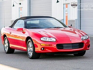 2002 Chevrolet Camaro Z28 for sale 101470013