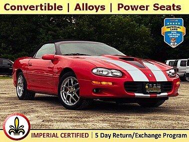 2002 Chevrolet Camaro Z28 for sale 101519807