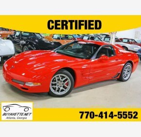 2002 Chevrolet Corvette Z06 Coupe for sale 101066900