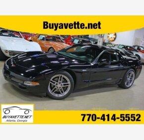 2002 Chevrolet Corvette Z06 Coupe for sale 101154424