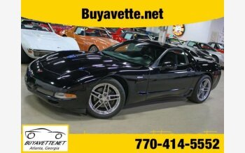 2002 Chevrolet Corvette Z06 Coupe for sale 101154424