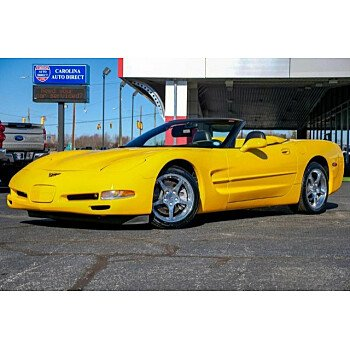 2002 Chevrolet Corvette Convertible for sale 101239372