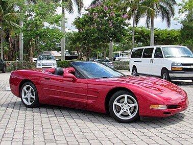 2002 Chevrolet Corvette for sale 101515085