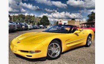 2002 Chevrolet Corvette Convertible for sale 101619900