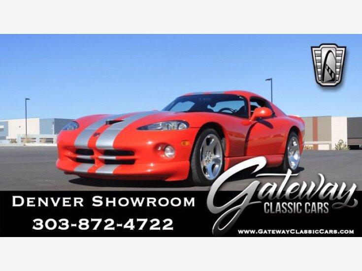 2002 Dodge Viper GTS Coupe for sale 101486640