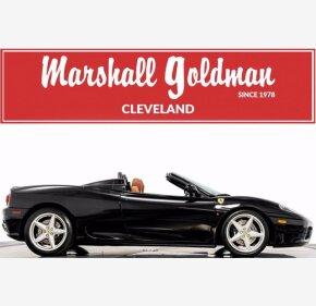 2002 Ferrari 360 Spider for sale 101365352