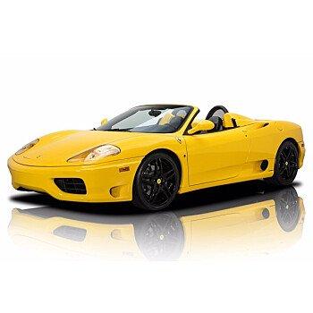 2002 Ferrari 360 Spider for sale 101542945
