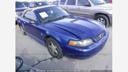 2002 Ford Mustang Convertible for sale 101101620