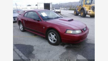 2002 Ford Mustang Coupe for sale 101106329
