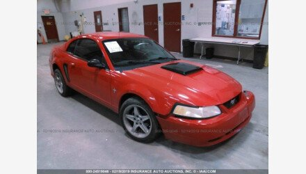 2002 Ford Mustang Coupe for sale 101107545