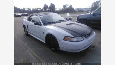 2002 Ford Mustang Convertible for sale 101109585