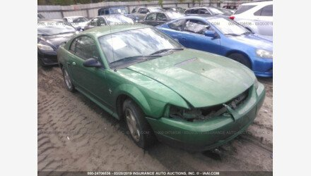 2002 Ford Mustang Coupe for sale 101116286