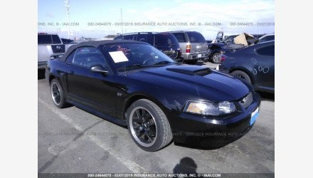 2002 Ford Mustang GT Convertible for sale 101124172