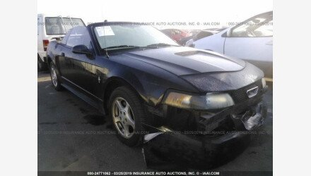 2002 Ford Mustang Convertible for sale 101124206