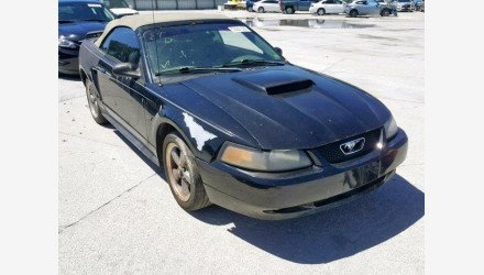 2002 Ford Mustang GT Convertible for sale 101125682