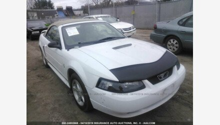 2002 Ford Mustang Convertible for sale 101125862