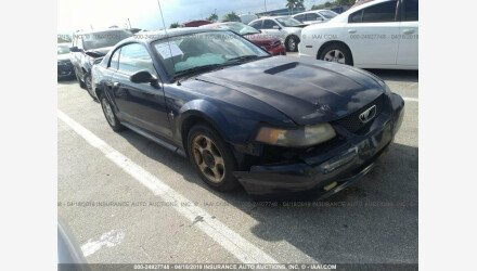 2002 Ford Mustang Coupe for sale 101129228