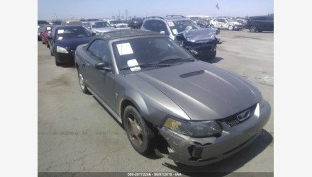2002 Ford Mustang Convertible for sale 101190960
