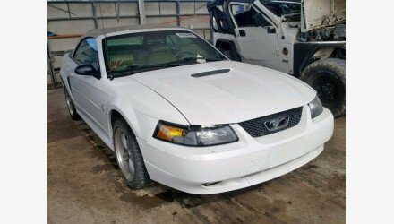 2002 Ford Mustang Convertible for sale 101192076