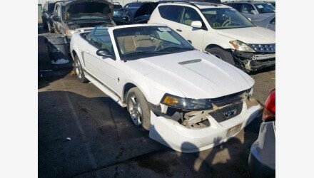 2002 Ford Mustang Convertible for sale 101193054