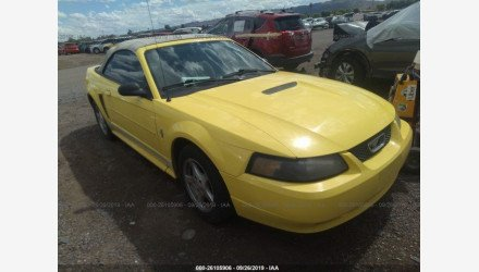 2002 Ford Mustang Convertible for sale 101217571