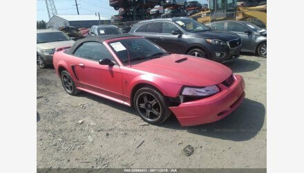 2002 Ford Mustang Convertible for sale 101218786