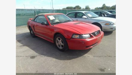 2002 Ford Mustang Convertible for sale 101219744