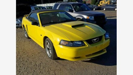 2002 Ford Mustang GT Convertible for sale 101220325