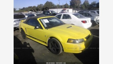 2002 Ford Mustang Convertible for sale 101220914