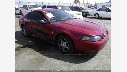 2002 Ford Mustang Coupe for sale 101220923