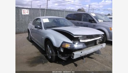 2002 Ford Mustang Coupe for sale 101220976