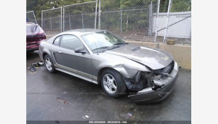 2002 Ford Mustang Coupe for sale 101221048