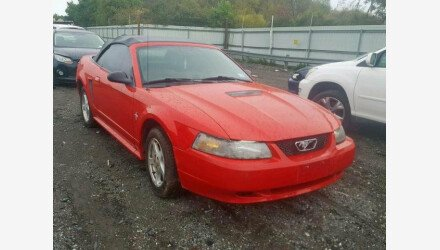 2002 Ford Mustang Convertible for sale 101223107