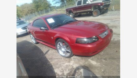 2002 Ford Mustang Coupe for sale 101223922