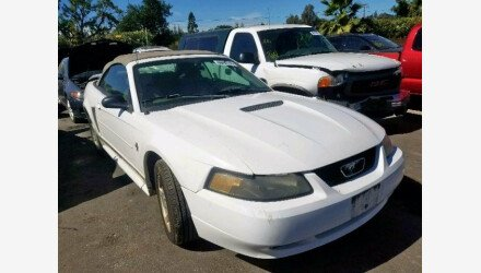 2002 Ford Mustang Convertible for sale 101225036