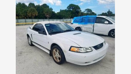 2002 Ford Mustang Convertible for sale 101229702