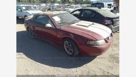 2002 Ford Mustang GT Convertible for sale 101231380