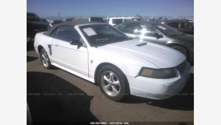 2002 Ford Mustang Convertible for sale 101231479