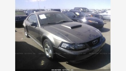 2002 Ford Mustang GT Coupe for sale 101232008
