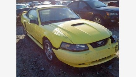 2002 Ford Mustang Convertible for sale 101232504