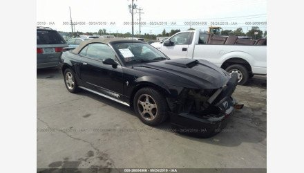 2002 Ford Mustang Convertible for sale 101234743
