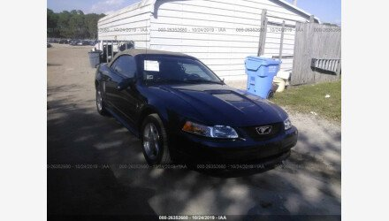 2002 Ford Mustang Convertible for sale 101234746