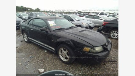 2002 Ford Mustang Coupe for sale 101235891