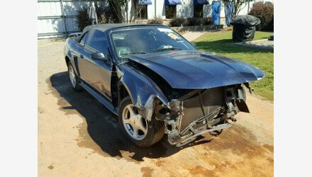2002 Ford Mustang Convertible for sale 101238590