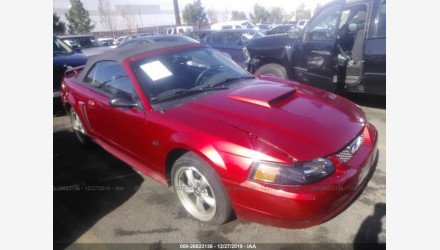 2002 Ford Mustang GT Convertible for sale 101263457