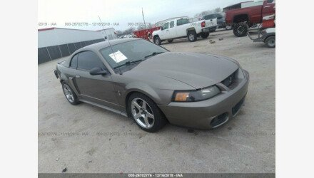 2002 Ford Mustang GT Coupe for sale 101270190