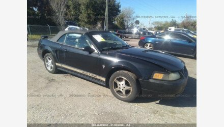 2002 Ford Mustang Convertible for sale 101272140